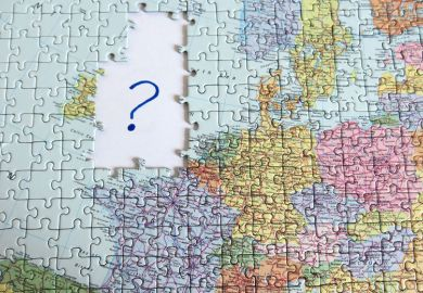 EU map missing UK, EU referendum, Brexit