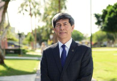 CETYS University president Fernando León-García