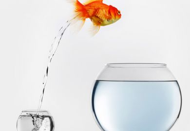 Fish upgrading tank size