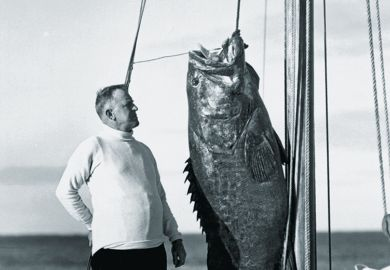 Man with huge fish