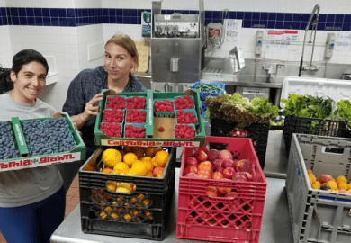 University of California, San Diego Food recovery network