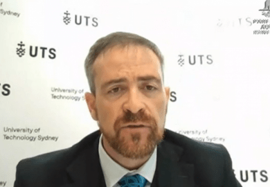 Attila Brungs, UTS vice-chancellor