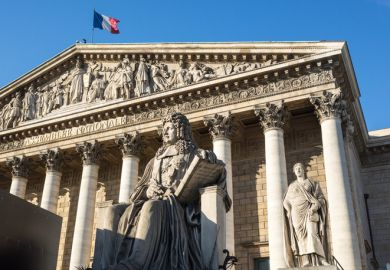 France's National Assembly, Paris