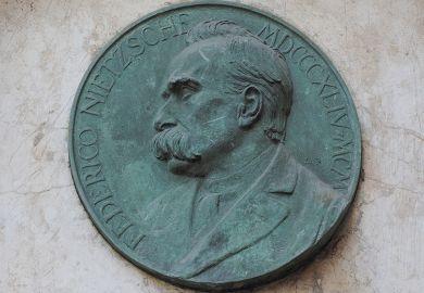 Friedrich Nietzsche memorial plaque, Turin