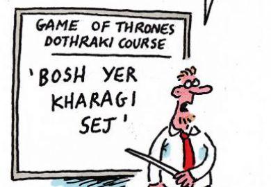 Game of Thrones cartoon
