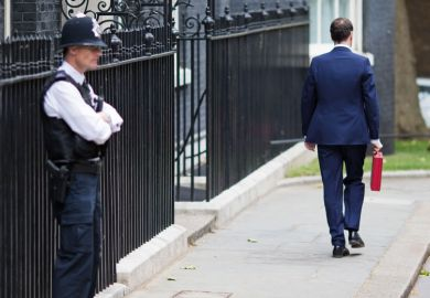 George Osborne outside 11 Downing Street, London, Budget Day, 2015