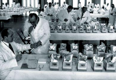 German butter experts at work, Niedersachsenhalle, Hannover