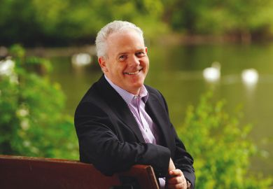 Gerry McCormac, principal and vice-chancellor of the University of Stirling