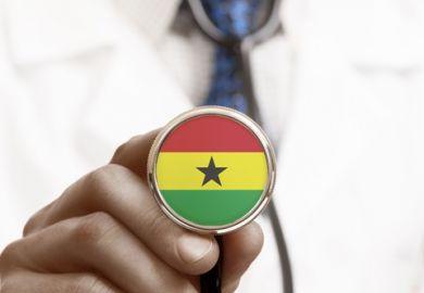 a Ghanaian doctor