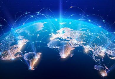 A linked globe