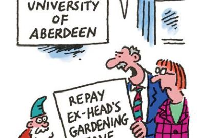 gardening leave cartoon