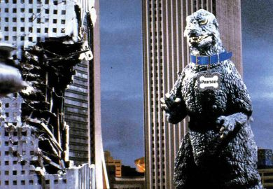 Godzilla with Pearson dog collar