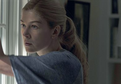 A still from the film Gone Girl starring Rosamund Pike