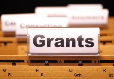 Grant winners tab on folder