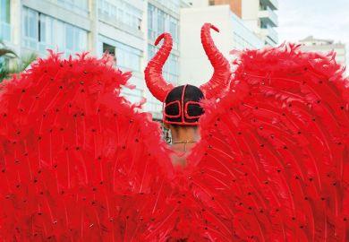 Carnival devil