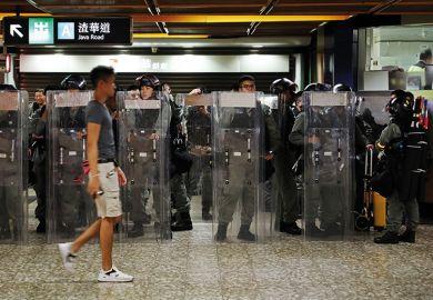Hong Kong riot police