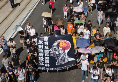 Hong Kong 2012 protest