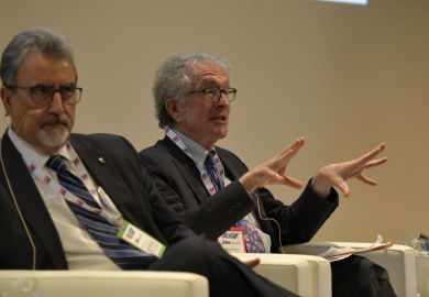Howard Gardner speaks at the THE World Academic Summit