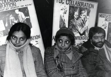 Hunger strike pickets, Grunwick photo-processing laboratory, Willesden, London