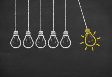 Idea, ideas, innovation, light