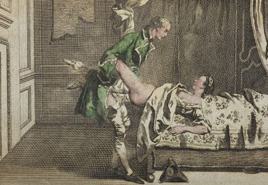 Illustration from Memoirs of a Woman of Pleasure, by John Cleland, 1766