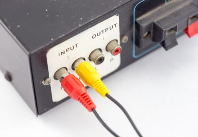 input and output jacks