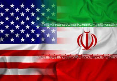 Iran US flag collaboration