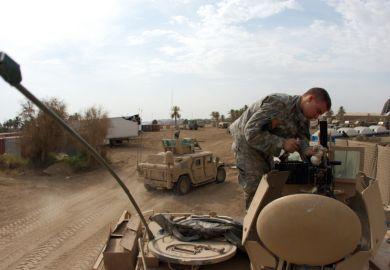 Iraq war conflict gun
