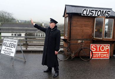 irish border guard and customs
