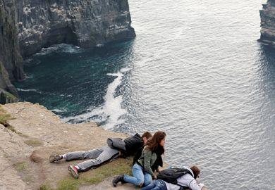 Irish clifftop
