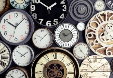 Watches symbolising time sheets and working hours