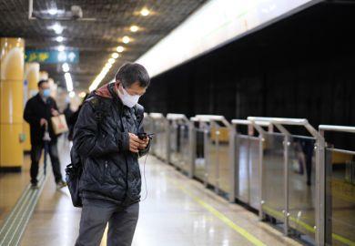 Coronavirus fears in Shanghai