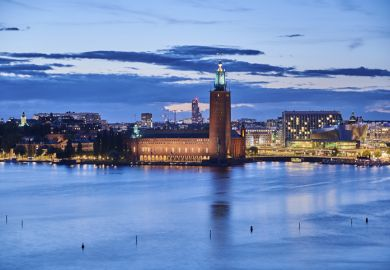 Stockholm City Hall illustrating article about 'Nobel Life: Conversations with 24 Nobel Laureates on their Life Stories, Advice for Future Generations and What Remains to be Discovered', a new book by Stefano Sandrone