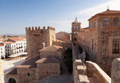 International student: an Indian student in Spain