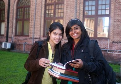 Indian students studying in Canada