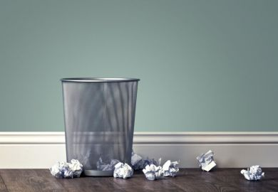Waste paper basket