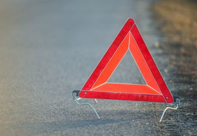 triangle, warning