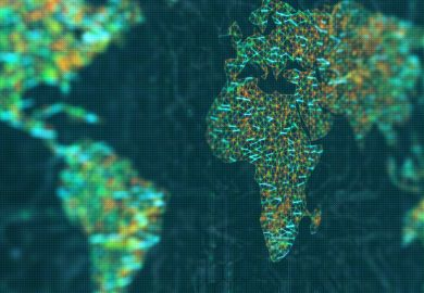 World networks with focus on Africa