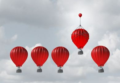One balloon gets a lift