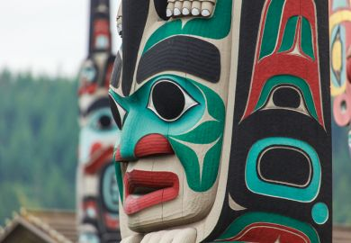 North American indigenous totem