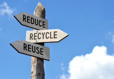 Best universities for recycling and reusing