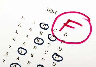 Pass or fail exam