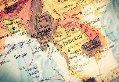 Myanmar, Burma, Thailand, East Asia