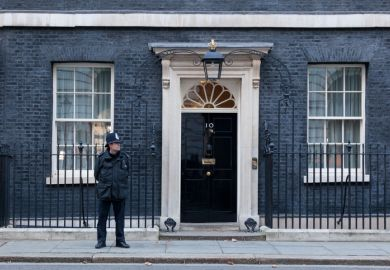 Downing Street, police