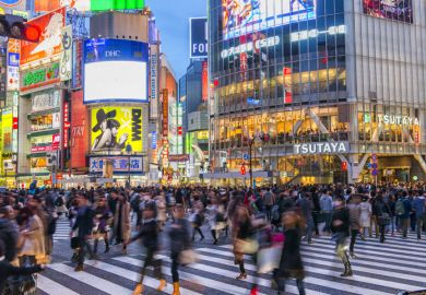 The cost of studying at a university in Japan