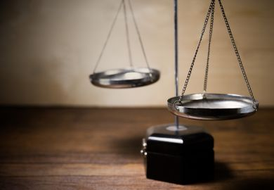 Scales, justice, law
