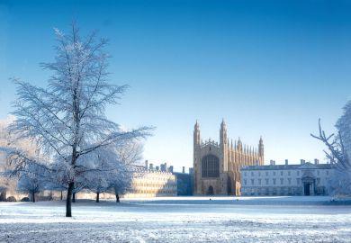 Most festive universities on Instagram - University of Cambridge