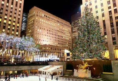 Brits in America: Christmas in New York