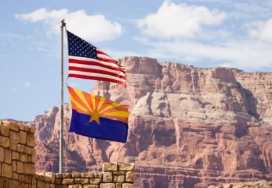 US Arizona flag