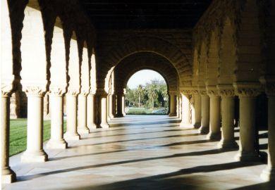 Hallowed halls of Stanford